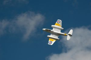 Gloster Meteor T7 by FurLined