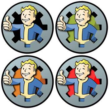 FO3Edit Vault Boys by starfish20