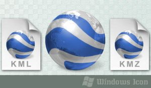 Google Earth +filetypes - Icon by ssx