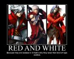 Red and white by Redchampiontrainer01