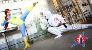 Scarlett vs Storm Shadow by Cobra1stLegion