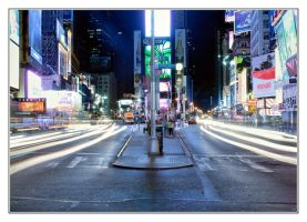 Time Square, NYC by divagation