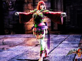 Sarah in Soul Calibur 4 by Shadow-Ichigo