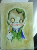 The Joker-Heath Ledger Caricature by xxyaanboy