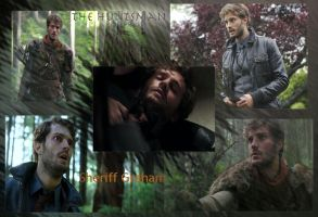 the Huntsman and Sheriff Graham wallpaper by callyrose