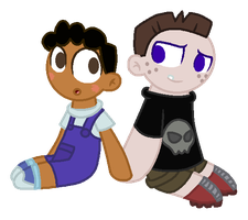 Buford and Baljeet by StarryOak