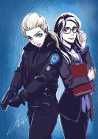 Rookie Blue_ Gail and Holly by hanukara
