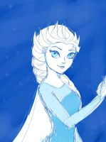 .: Queen of Ice :. by TheChaoticShadow