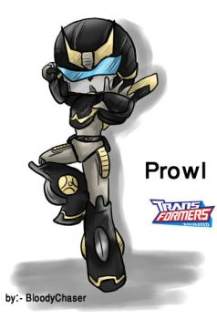 Chibi Kung-fu Prowl animated by BloodyChaser
