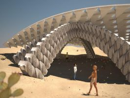 Parametric Desert Canopy by LuxXeon