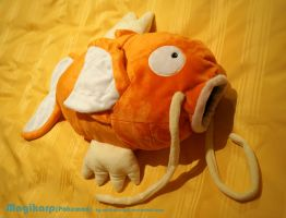 Big Magikarp Plush by Wolflessnight