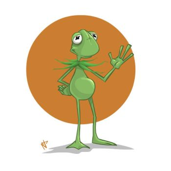 30 day drawing challenge: Day 1 muppet by nachotoonz