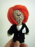Agent Scully Doll by Sini-M
