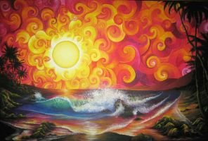 Jeweled Sunset by Kyla-Nichole