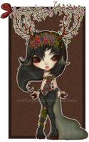Auction CLOSED (Original Species) Pyrelle Dryad 1# by Agoodchime
