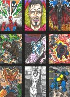 Sketch cards 10 by GraphixRob