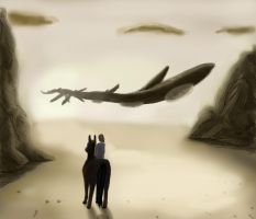 Shadow of the Colossus by FeatheredDragon