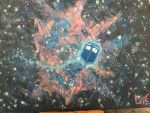TARDIS before the Nebula by TheyCallMeRoxas
