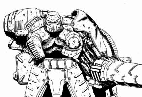 WarMachine 3 by CreatureBoy