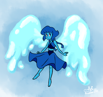 Lapis Lazuli the Water Witch by HirokoTheHedgehog