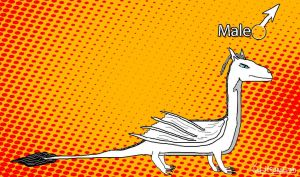 Male white DRAGON by 777whiteDRAGON
