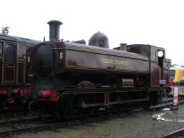 London Transport Pannier Tank L94 at Railfest 2012 by rlkitterman