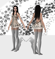 AliceLingerie wip1 by tombraider4ever