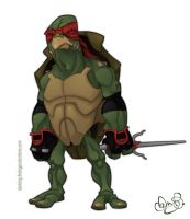 Raph by WonderDookie