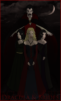 Dracula and Brides by myaen