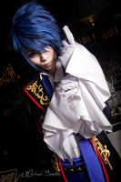 vocaloid-sandplay Kaito by 11thchocolateprince