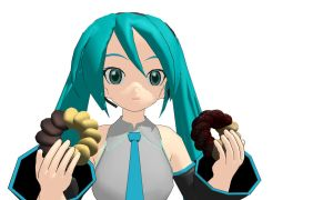 MMD bread sweet Download by 9844