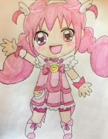 Glitter Force Chibi Series Lucky by Lea Voegeli by CaptainMockingjay