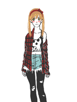 hipster Maka by Jazzie560