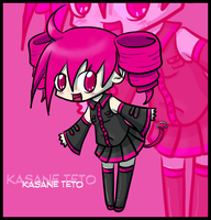Kasane Teto by TheRainbowSquid
