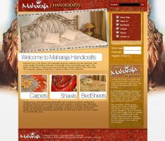 Maharaja Website by irfanrahmed