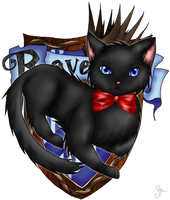 AT: Ravenclaw Kitten by PiichixChan