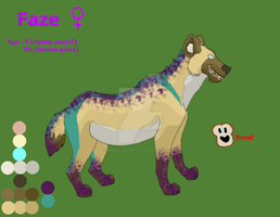 Faze the Hyena by BREAD-the-PIRATE