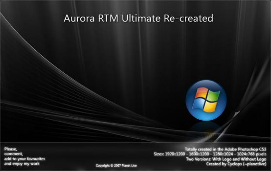 Aurora RTM Ultimate Re-created by planetlive