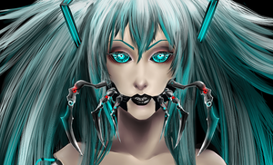 Virus face by V-Raider