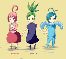 Gijinka_ baby_Pokemon by ran4koak
