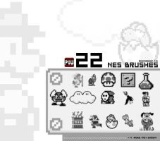 22 NES Brushes by justsomeboy