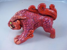 Beast figure- Coral by missmonster