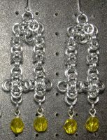 Chainmaille Earring 65 by Des804