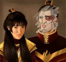 HANDSOME Firelord and Lady by arelia-dawn