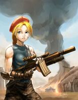 CAMMY : In BATTLEFIELD by Kumsmkii