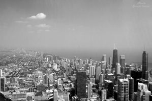 Chicago City View by Thilu