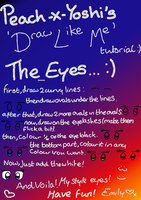 tutorial- how i draw eyes? XD by Peach-X-Yoshi