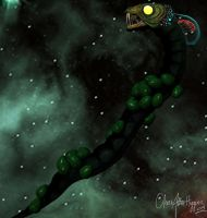 W.I.P Space worm take 2 by olivera-h