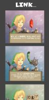-- Zelda: Link and the items -- by Kurama-chan