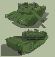 Main battle Heavy Tank by MSgtHaas